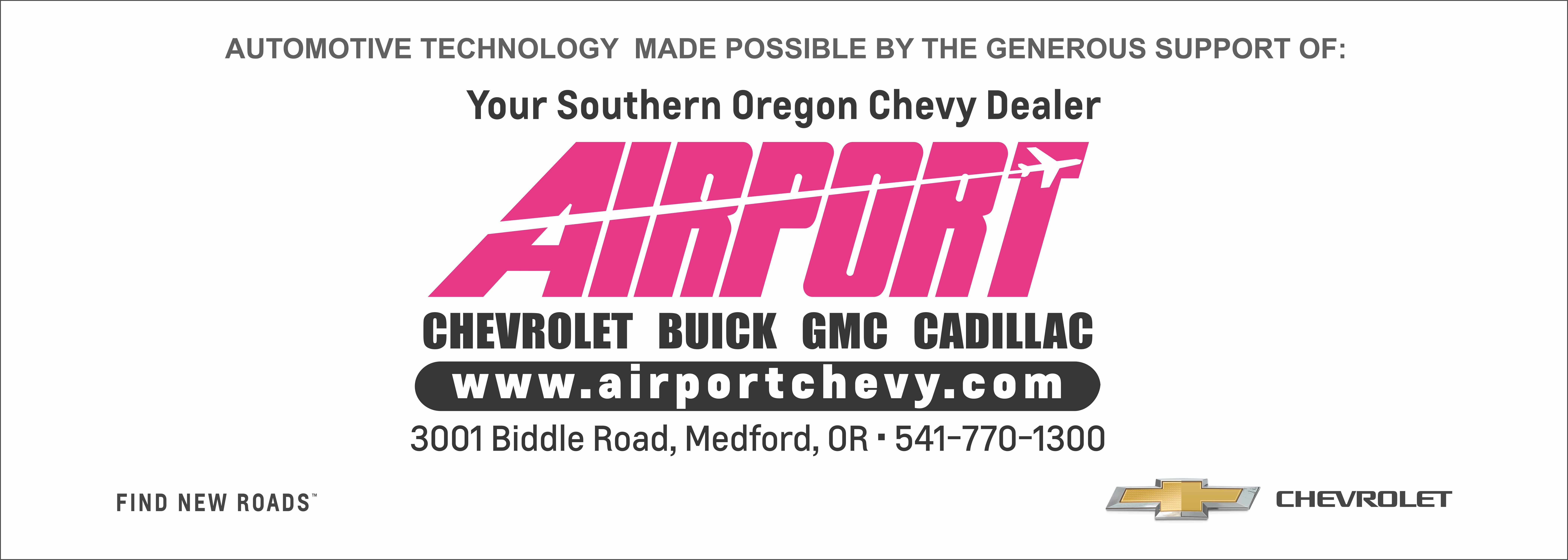 Airport Chevrolet Sign PNG